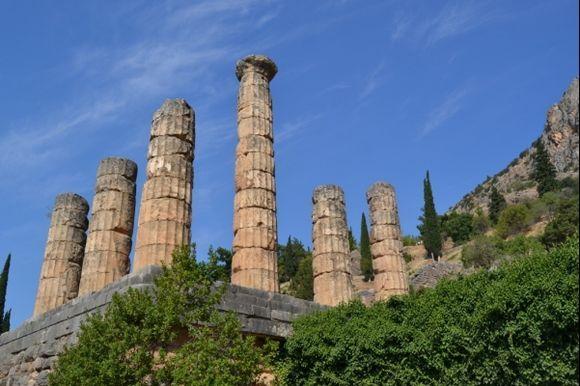 Temple of Apollo, Delphi.