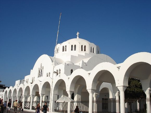 cathedral in Fira
