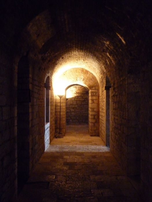 Inside the new Fort, Corfu town