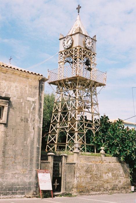 strange belltower