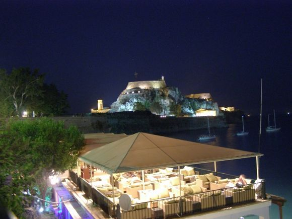 evening out in Corfu