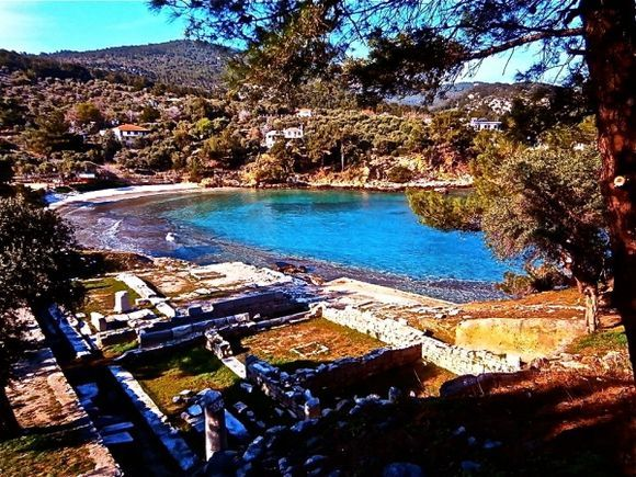 This is Ellada... Gods, Mythology, History, sea, olive trees, culture...all