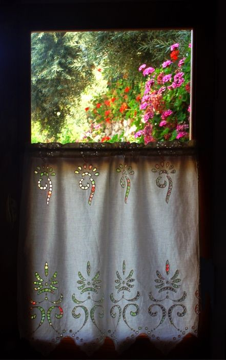 View from the window above Agios Nikitas village (Lefkada)