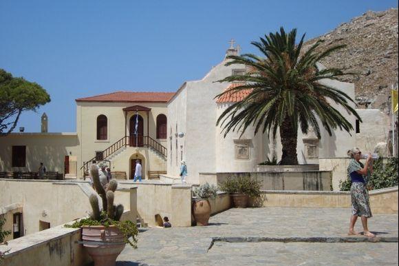 Preveli Monastery. Nice buildings.
