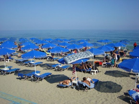 Beach in Rethymno