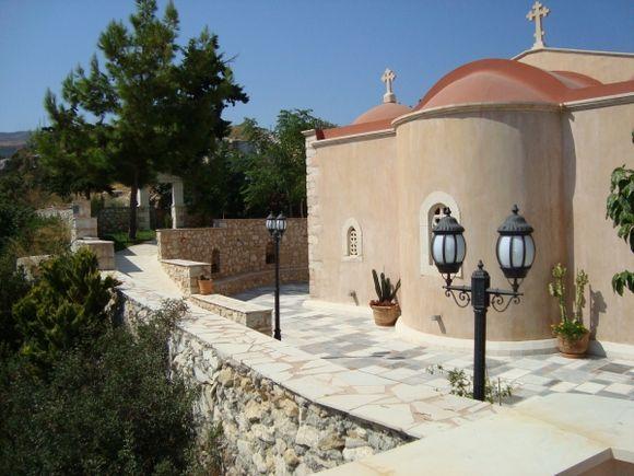 Agia Irini Monastery in Rethymno