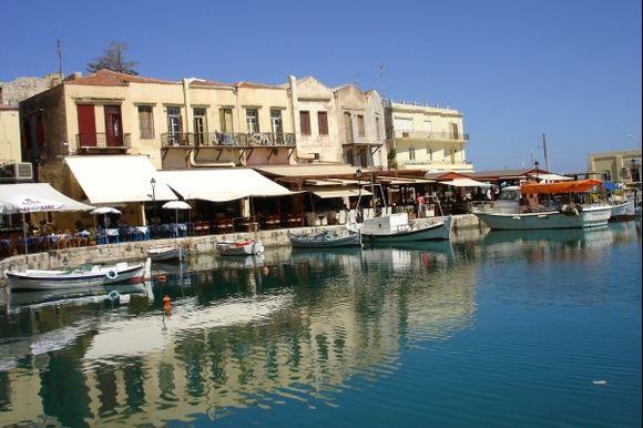 Venetian Harbour / Rethymno