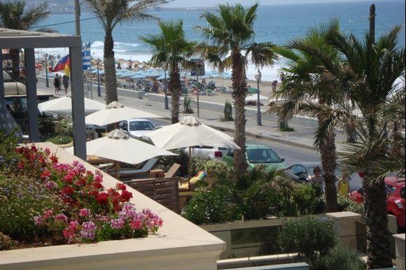 The beach in Rethymno / Crete