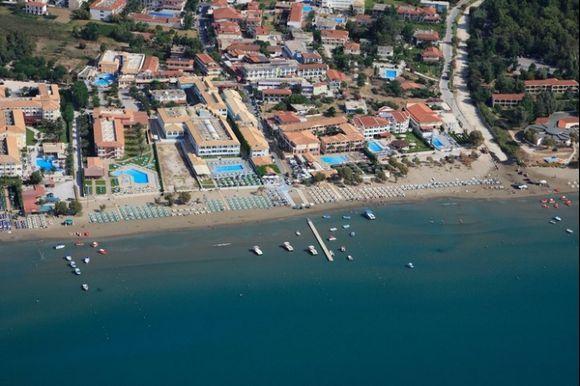 Aerial view on Laganas