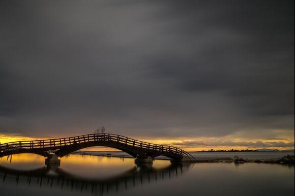 Bridge in Lefkas town