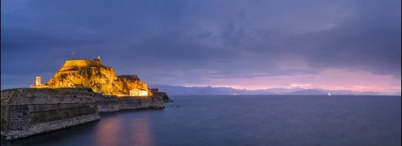 The Old fortress of Corfu island