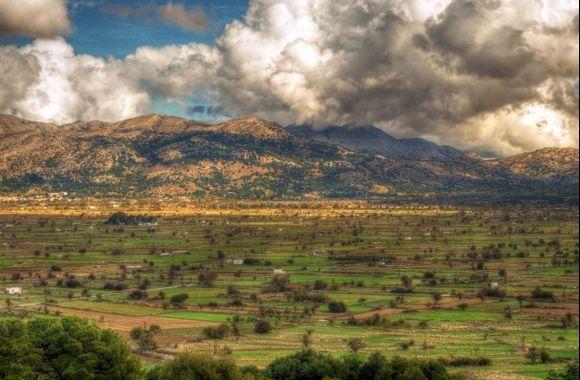 Clouds over Lassithi Plain