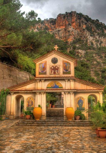 Monastery on Rainy Day