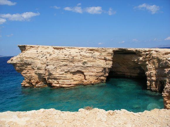 Sea Caves at Pori, Koufonisia