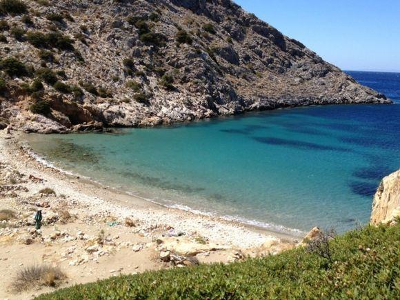 Armeos Beach, Galissas, Syros
