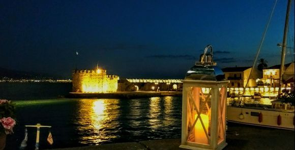 Port by night
