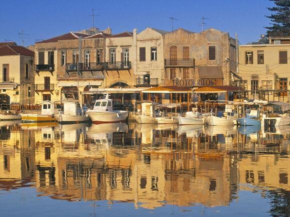 Inner Harbor On Crete