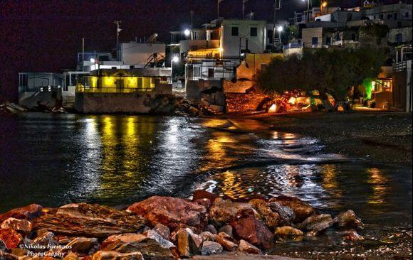 Faros by night