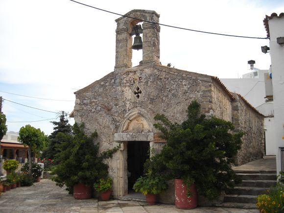 Axos old chapel