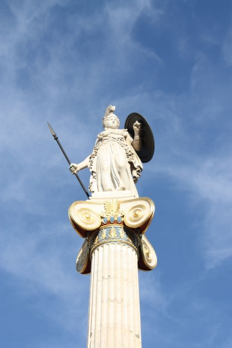 Athena (outside the National Archaeological Museum, Athens)