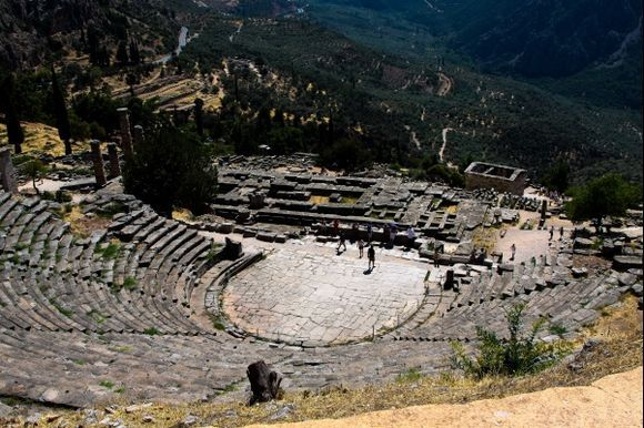 Theater at Delphi, 2012