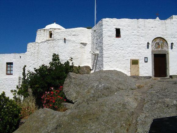 Patmos,Monastery of St. John Evangelist,The Cave of Apocalypse