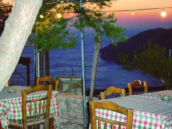 Sunset dinner atmosphere
