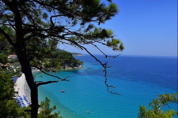 Adorable blue panorama