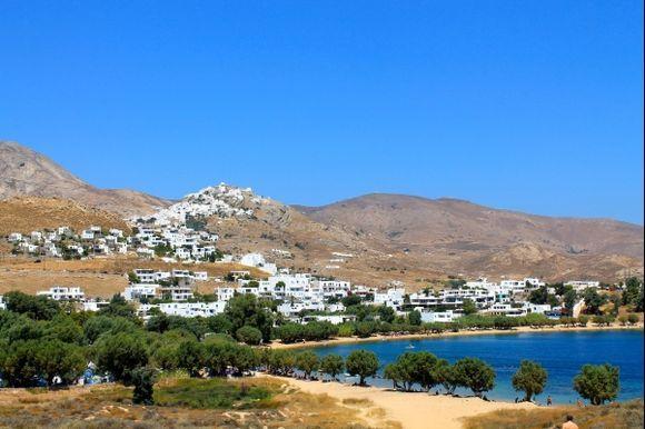 Chora view from Livadakia