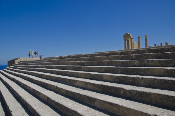 Staircase of the Propylaea to the Temple of Athena Lyndia