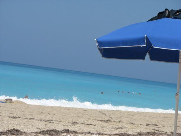 Pefkoulia beach ,Lefkada island