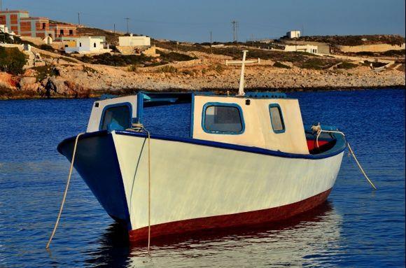 Sweet little boat