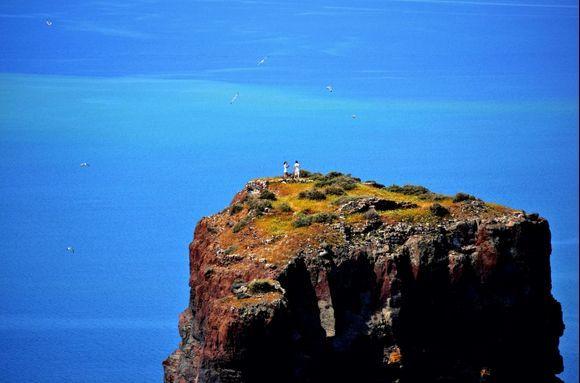 Fearless on Skaros Rock