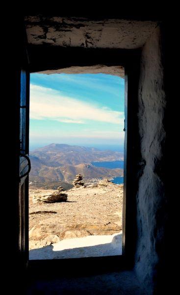 Air view  from Profitis Elias Panagia.