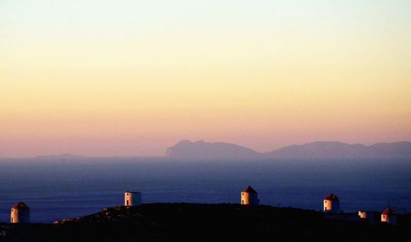 And dawn awakens the windmills
