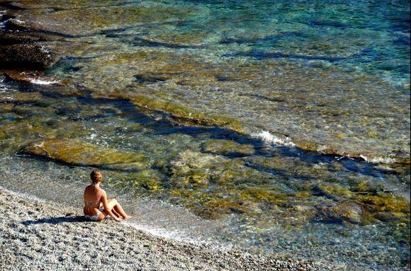 The solitary mermaid