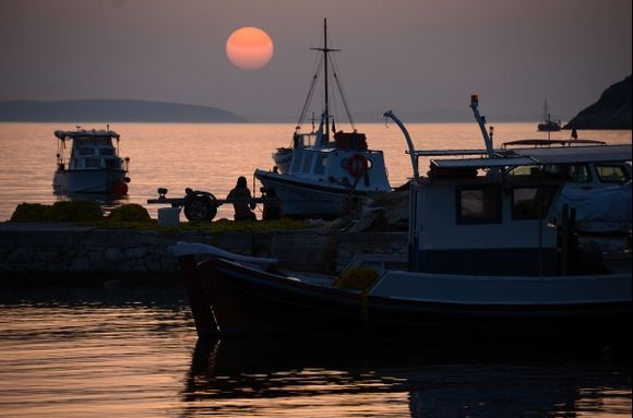 Sunset delight (Katapola)