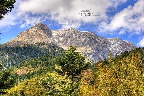 Helmos mountain