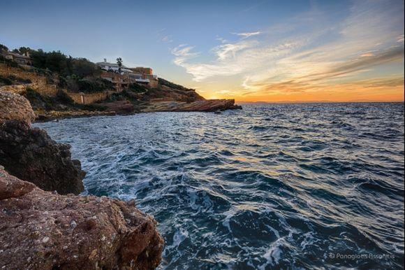 Sunset at Kavouri Bay