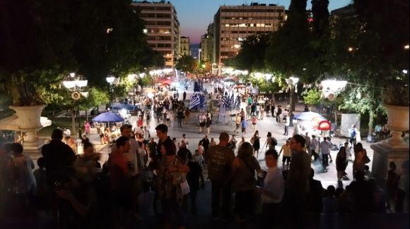 Syntagma tonight