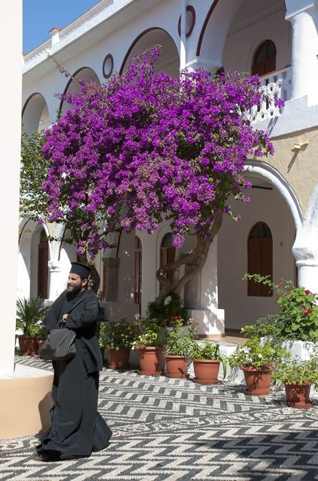 The priest of flowers