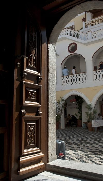 Church\'s door