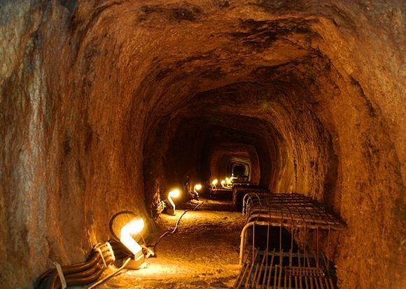 the Eupalinos Tunnel ...