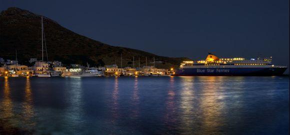 Blue Star Ferry Paros - Time To Go Home