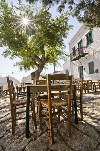 Quiet afternoon in Chora