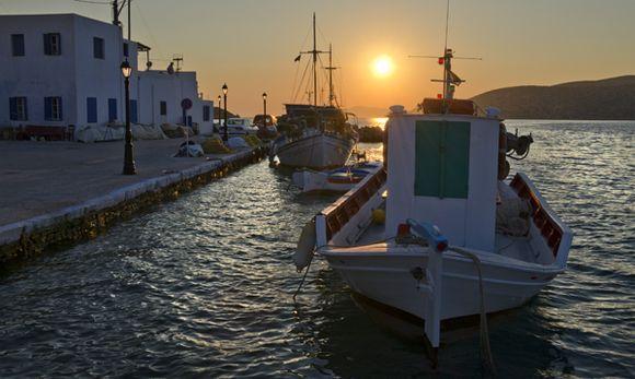 An Evening in Katapola