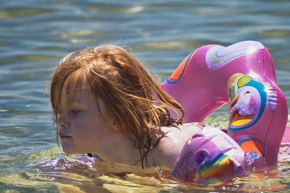 Swimming ...