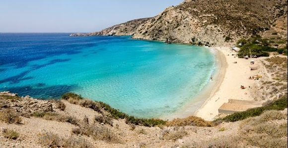 Blue Sea, White Sand