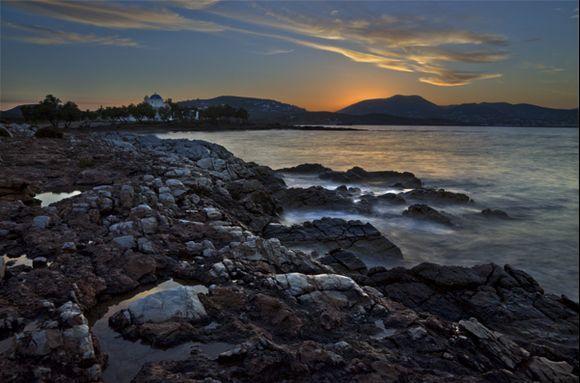 Sunrise at Agios Fokas Church