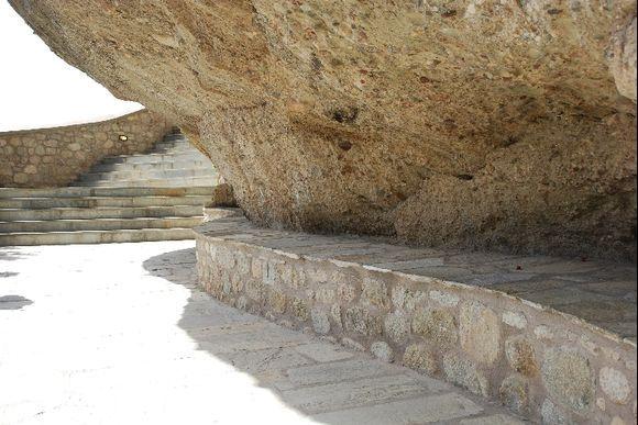 rewarding stop for breathing - Monastery of Varlaam